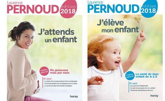 """Deux livres incontournables des Editions Horay """" j'élève mon enfant"""" et """" j'attends un enfant """""""