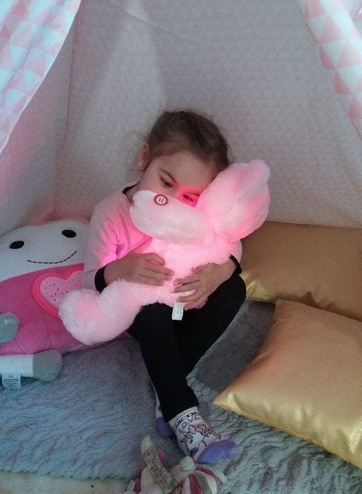 La peluche ours lumineuse, le compagnon idéal pour votre enfant avec Magickado !