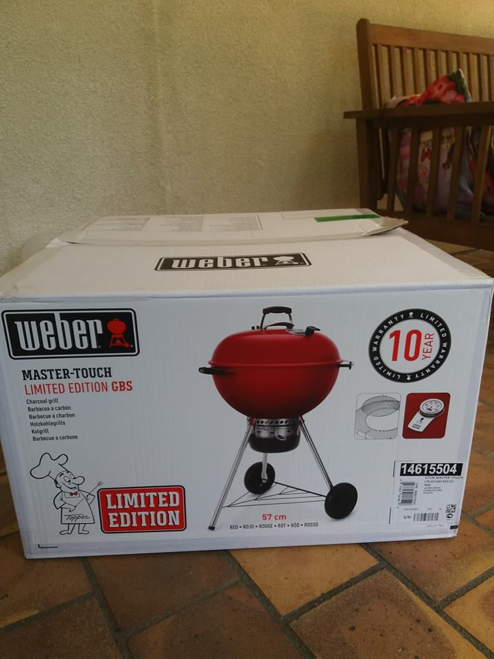 Barbecue Weber Master Touch