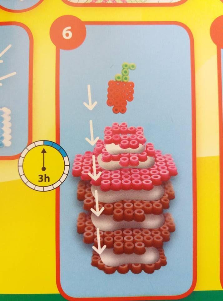 Mon test et avis sur les perles à repasser gâteaux  3D !