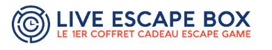 Offrez l'Aventure pour Noël avec Live Escape Game !