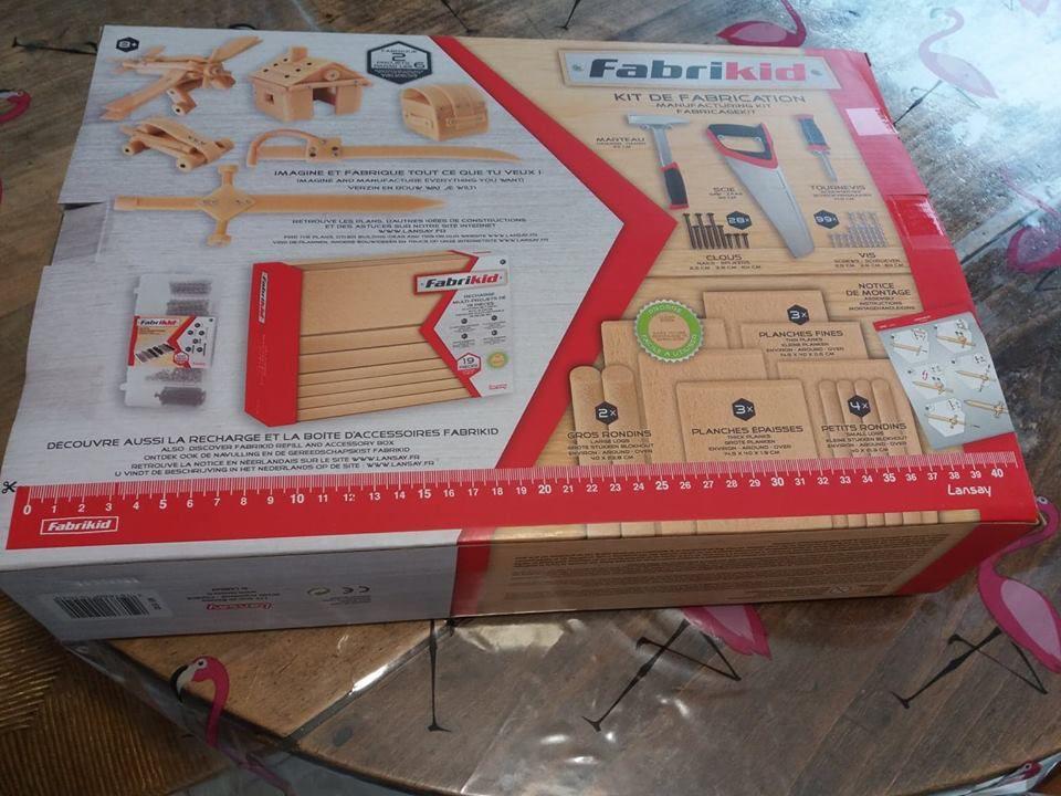 Fabrikit bricolage enfant