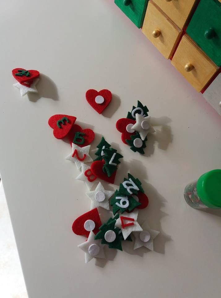 Notre calendrier de l'Avent - Activité manuelle enfant !