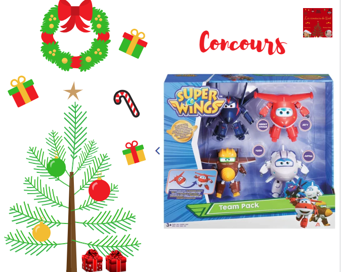 concours super wings