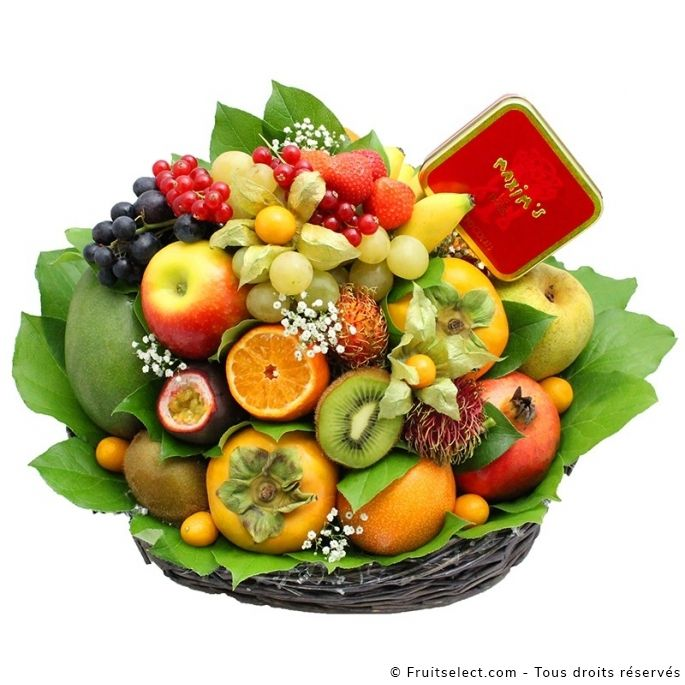 corbeilles de fruits