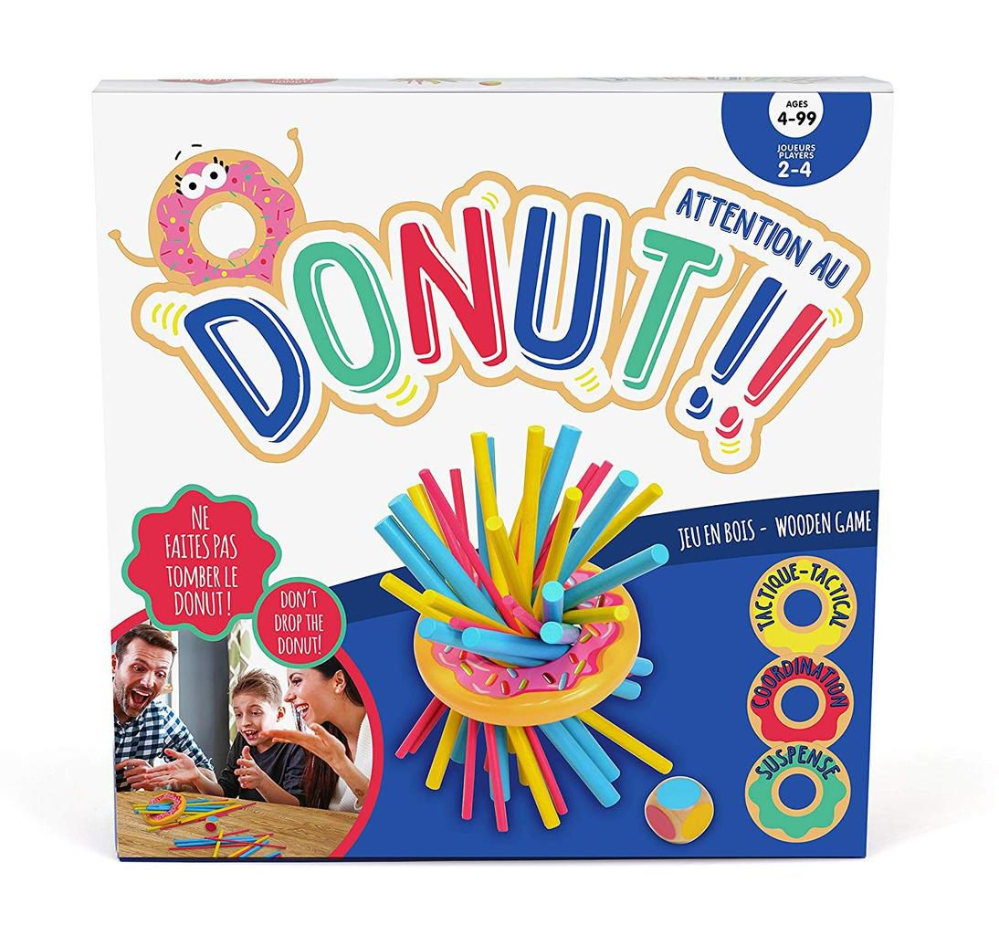 jeu attention au Donuts