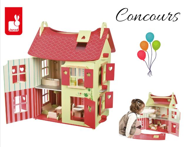 concours maison de poupée en bois