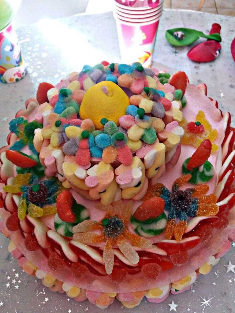 gâteau de bonboons
