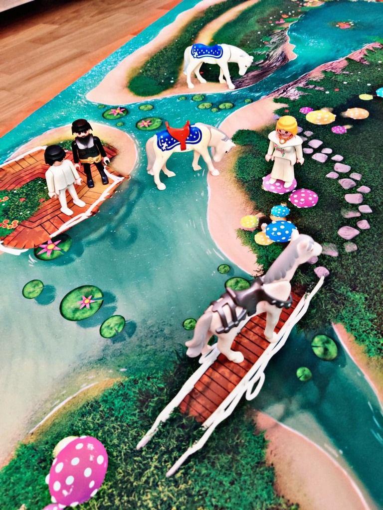 tapis de jeu playmobil