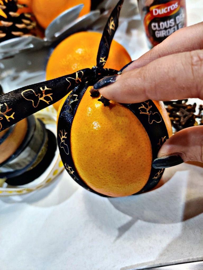 réalisation de pommes d'ambre