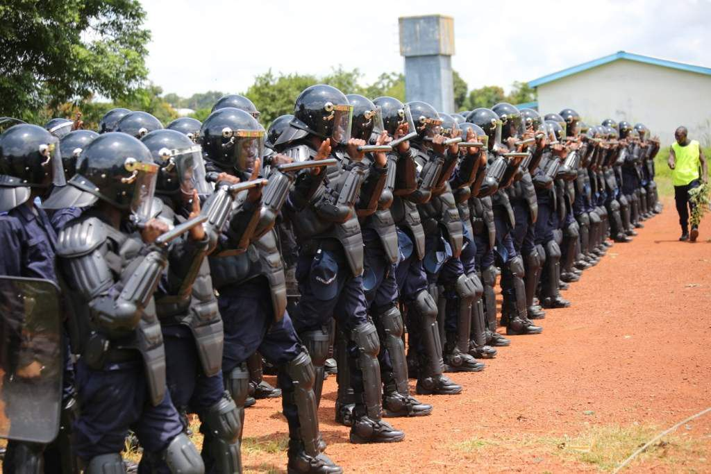 POLICE CENTRAFRICAINE