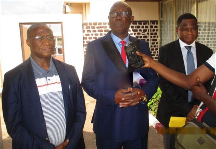 Ousmane DORE et Felix MOLOUA