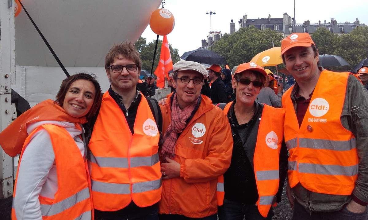 Bastille, manifestation du 12 septembre 2017