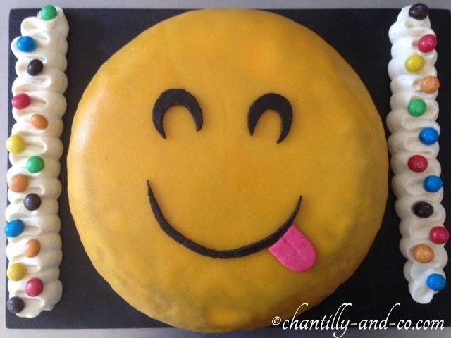 Gâteau smiley