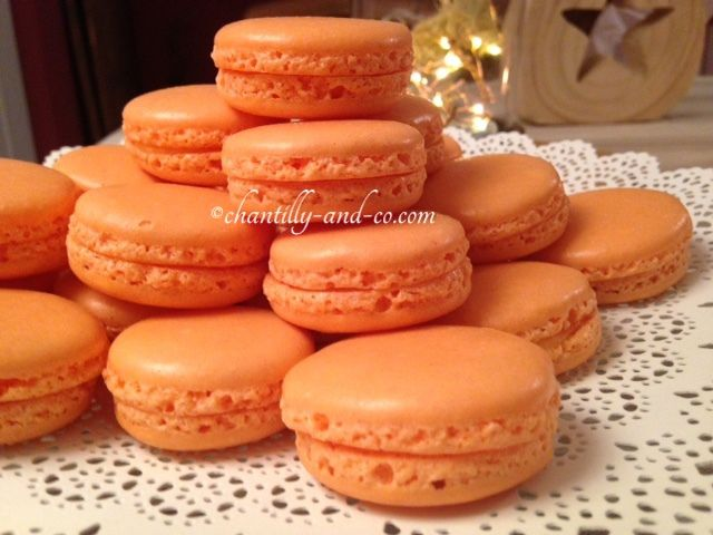 Macarons à l'orange