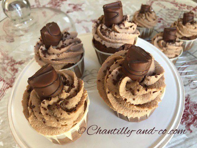 Cupcakes au kinder bueno