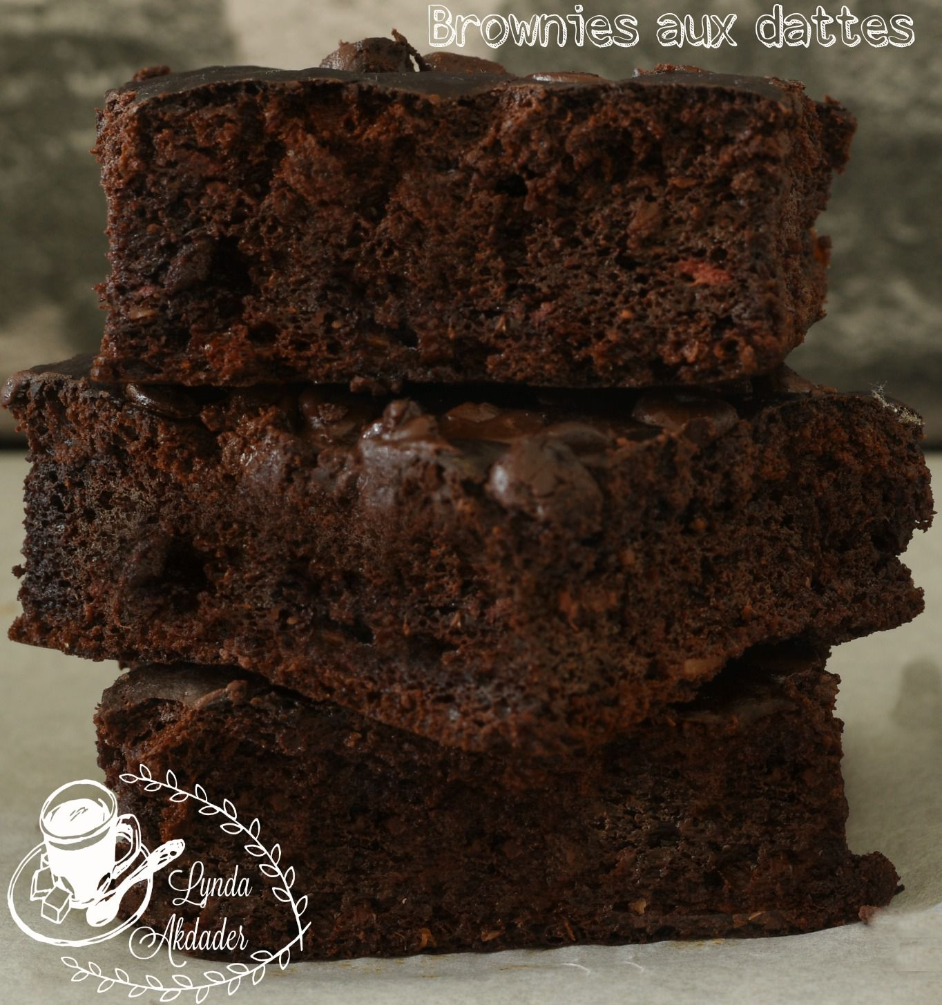 Brownies aux dattes