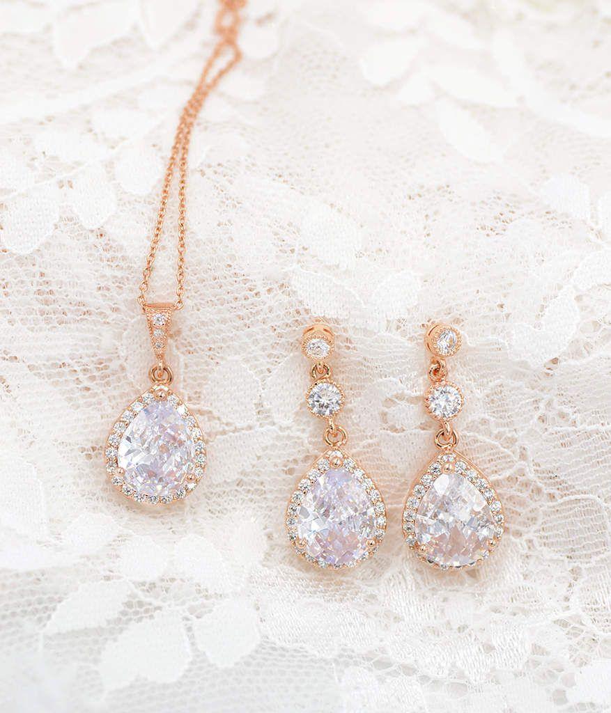 Bijoux mariage Rose Gold