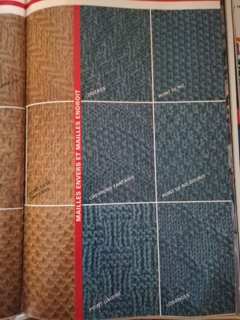 Tuto point tricot