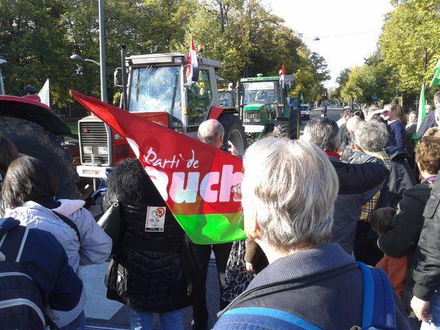 Trois mille manifestants ... ce n'est pas peu !