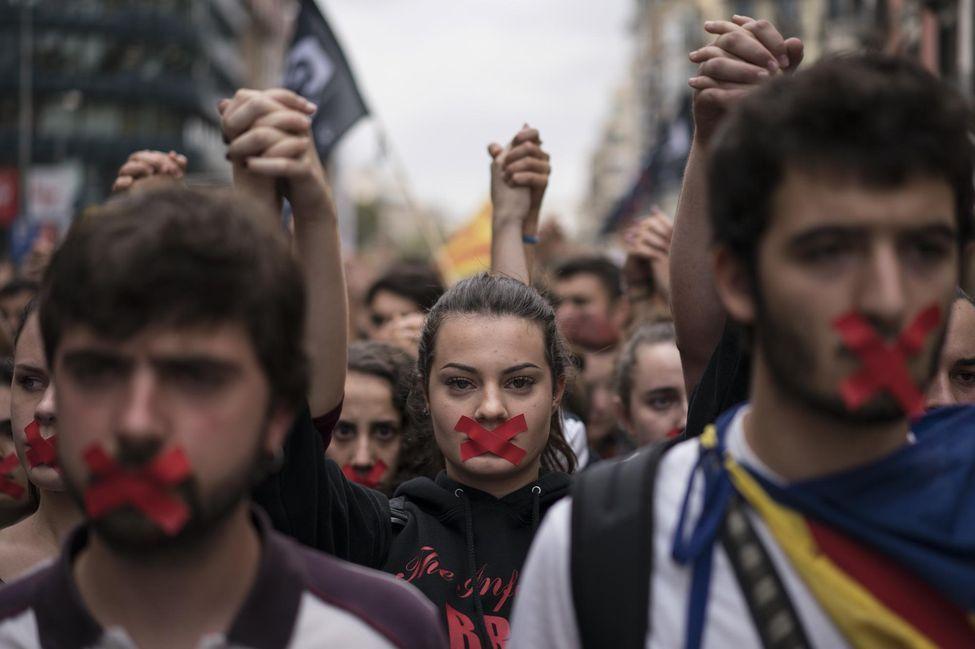 Des pro-indépendance lundi à Barcelone