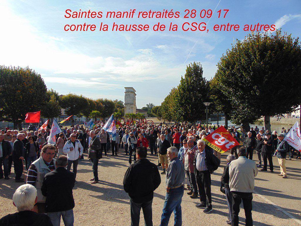 500 manifestants