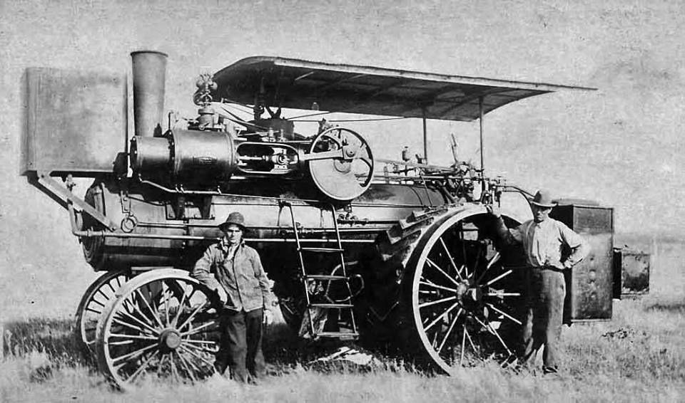 Le tracteur à vapeur du Train des Mouettes