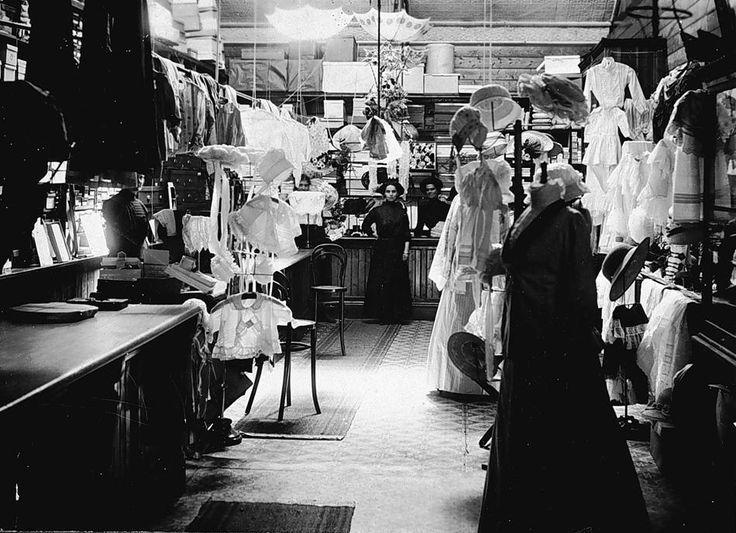 Commerces d'Autrefois - Géniales photos d'Internet pleines de charme... Paris, Lyon, et plein de villes de province