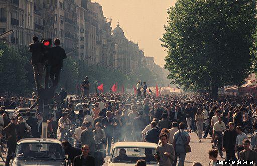 mai juin 1968 en couleur - photos Internet