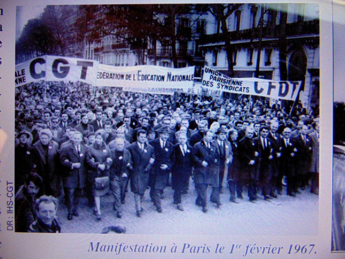 Les prémices de 1968 -  Les luttes en 1967