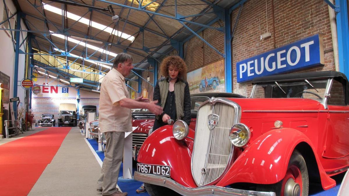 Les belles voitures des Petits meurtres d'Agatha Christie