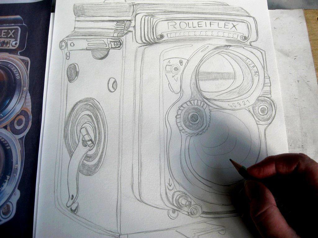 Mon dessin en cours :
