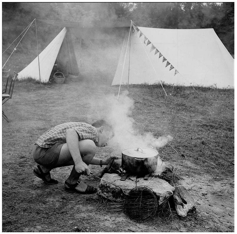 Le rétro-camping