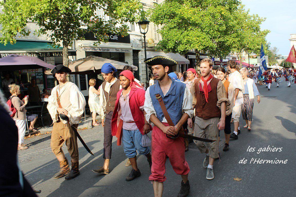C'était il y a deux ans - Rochefort fête Lafayette