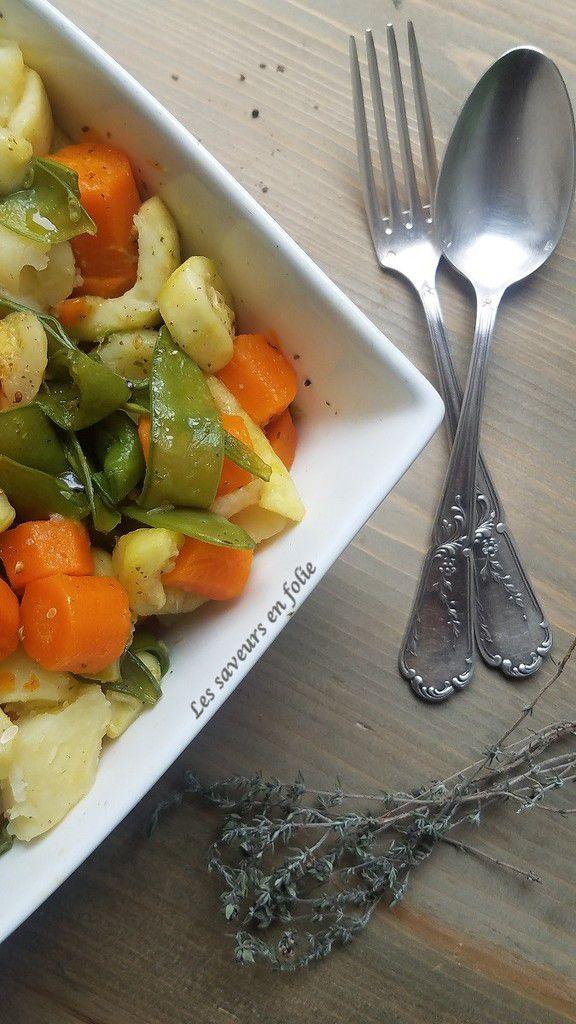 Légumes d'été poêlés