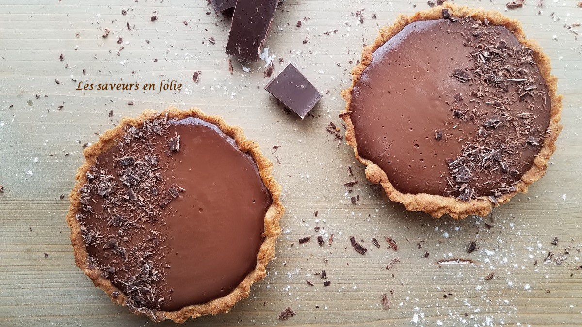 Tartelettes au chocolat...noisette...