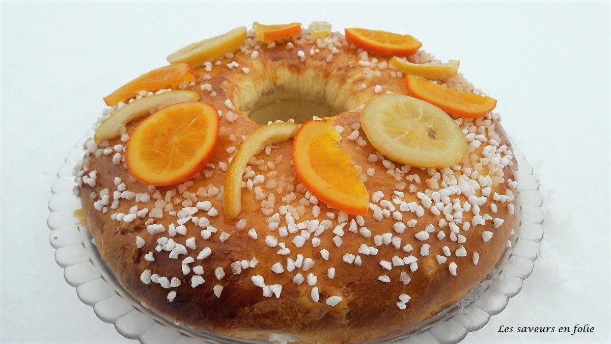 Brioche aux écorces d'oranges et citrons confits