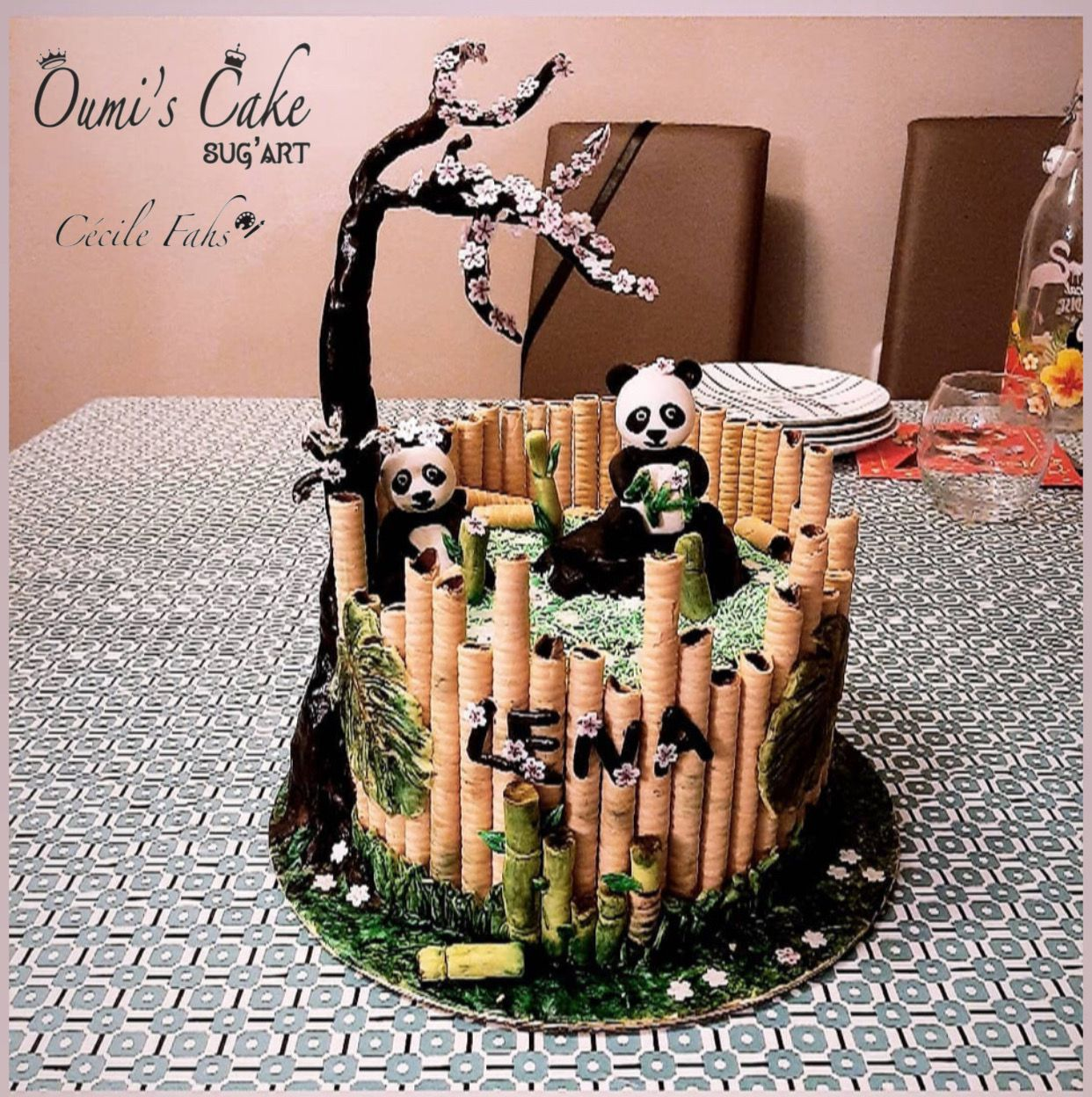 Panda's Cake 🐼