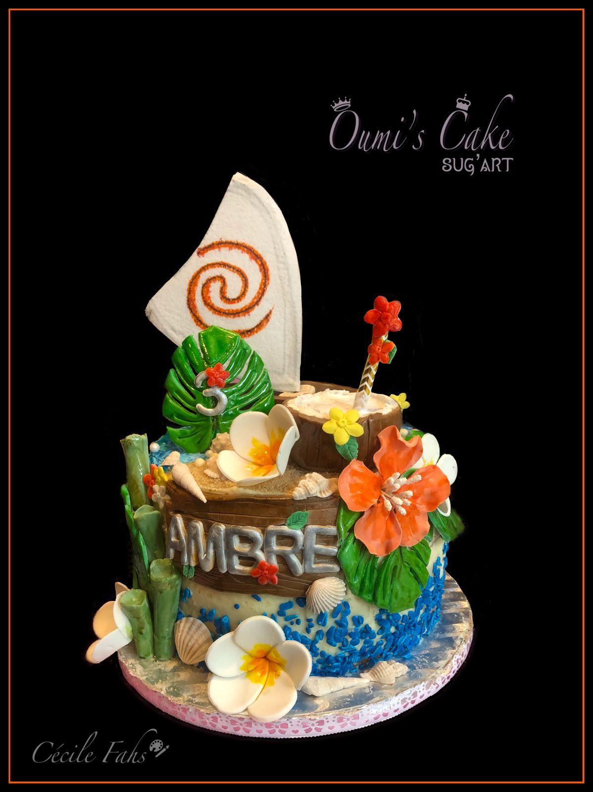 Gâteau Vaïana