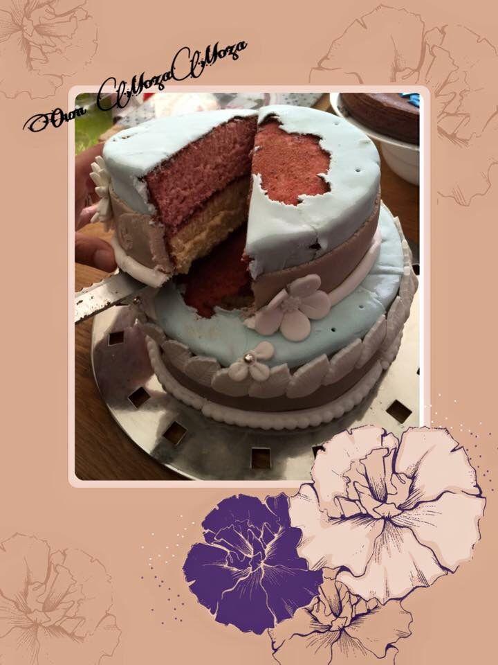 Gâteau danseuse pour les 8 ans de Romane