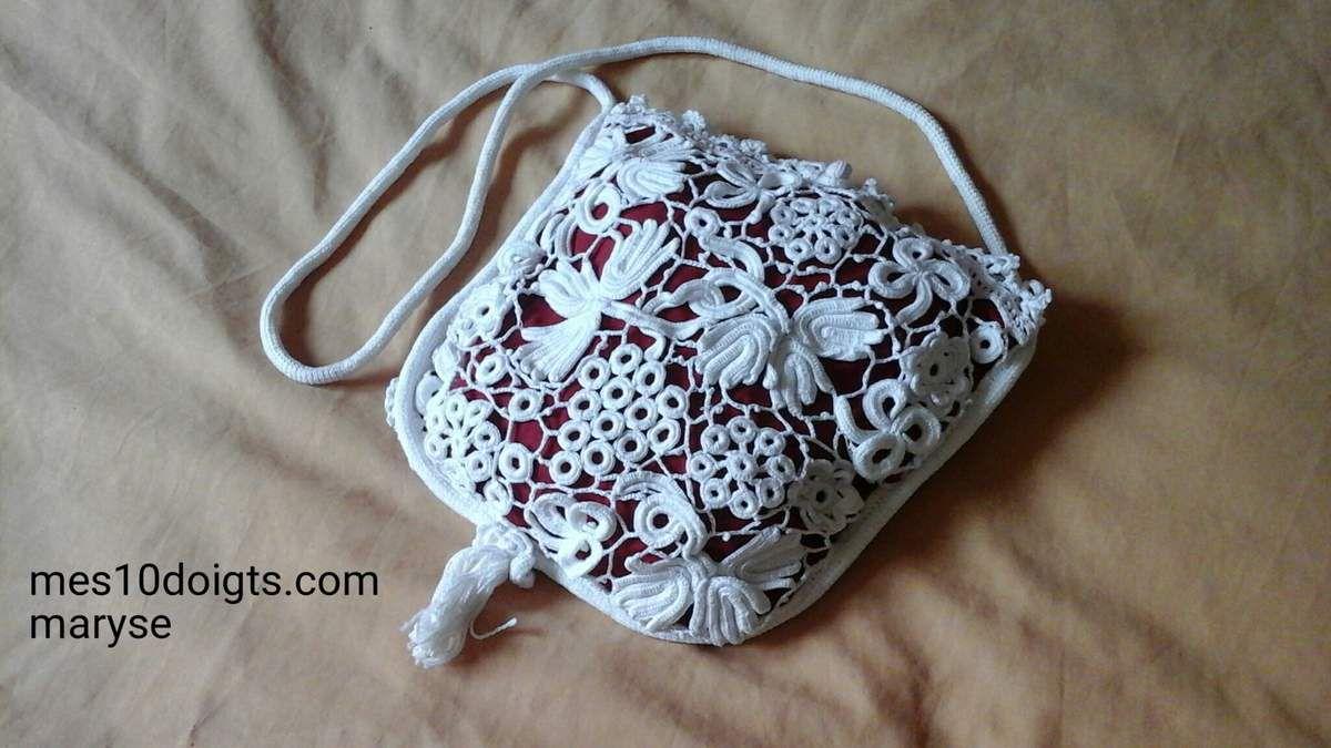 Mon sac en crochet irlandais