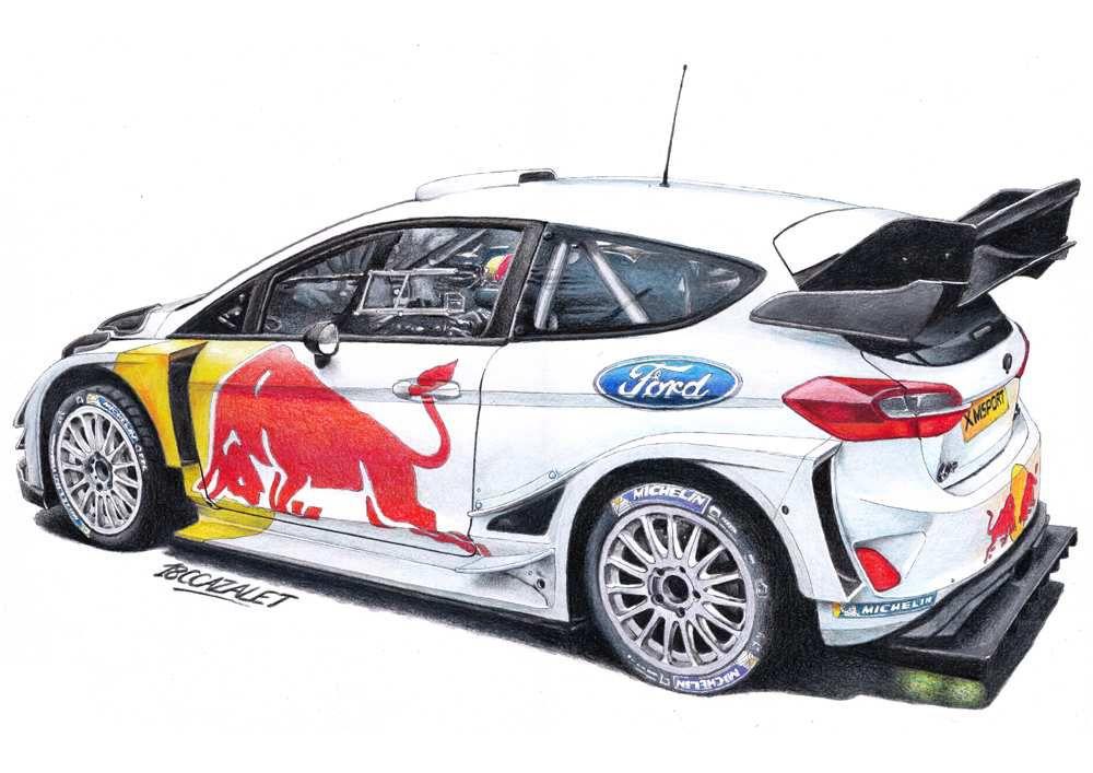 Sébastien Ogier - Fiesta WRC 2018