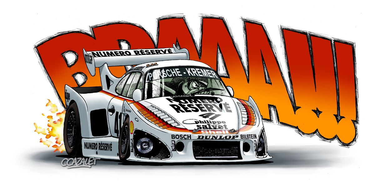 """Porsche 935K3 """"Cartoon"""""""
