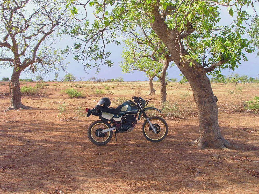 Yamaha 600XT - Burkina - Alentours de Ouaga - 2012