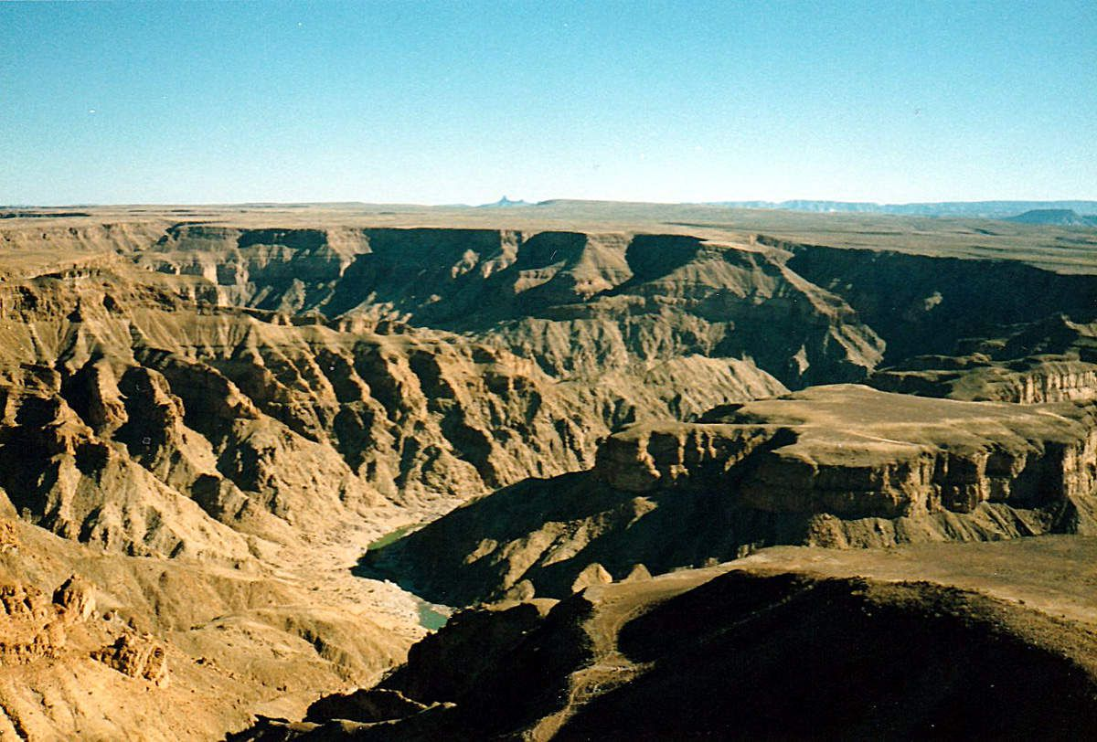 Namibie - Fish River Canion - 1989