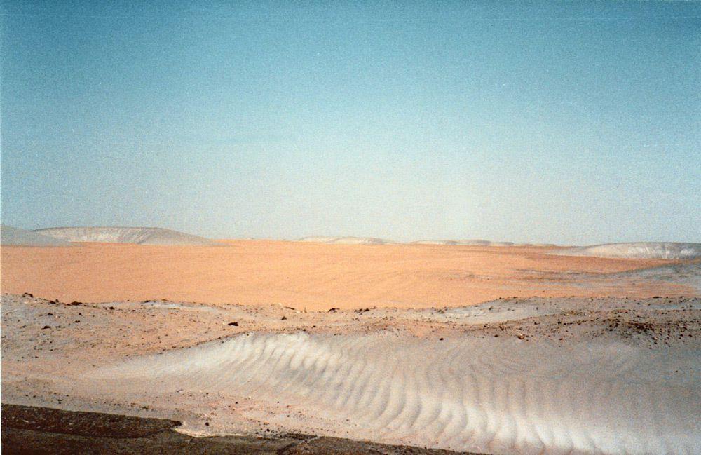 Autres vues du désert. Cependant, je ne suis pas capable de les situer