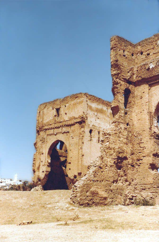 Les tombeaux des Mérinides en 1979 : Photos pris en Aout