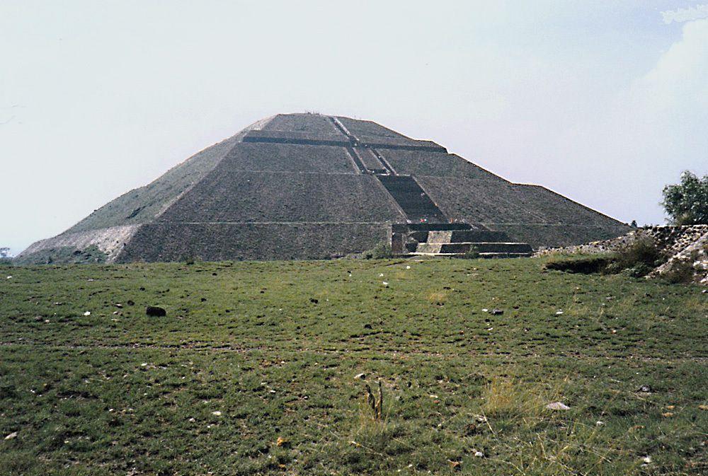 De même que pour le Machu Picchu, on remarquera qu'il n'y a pratiquement aucun touriste sur le site.