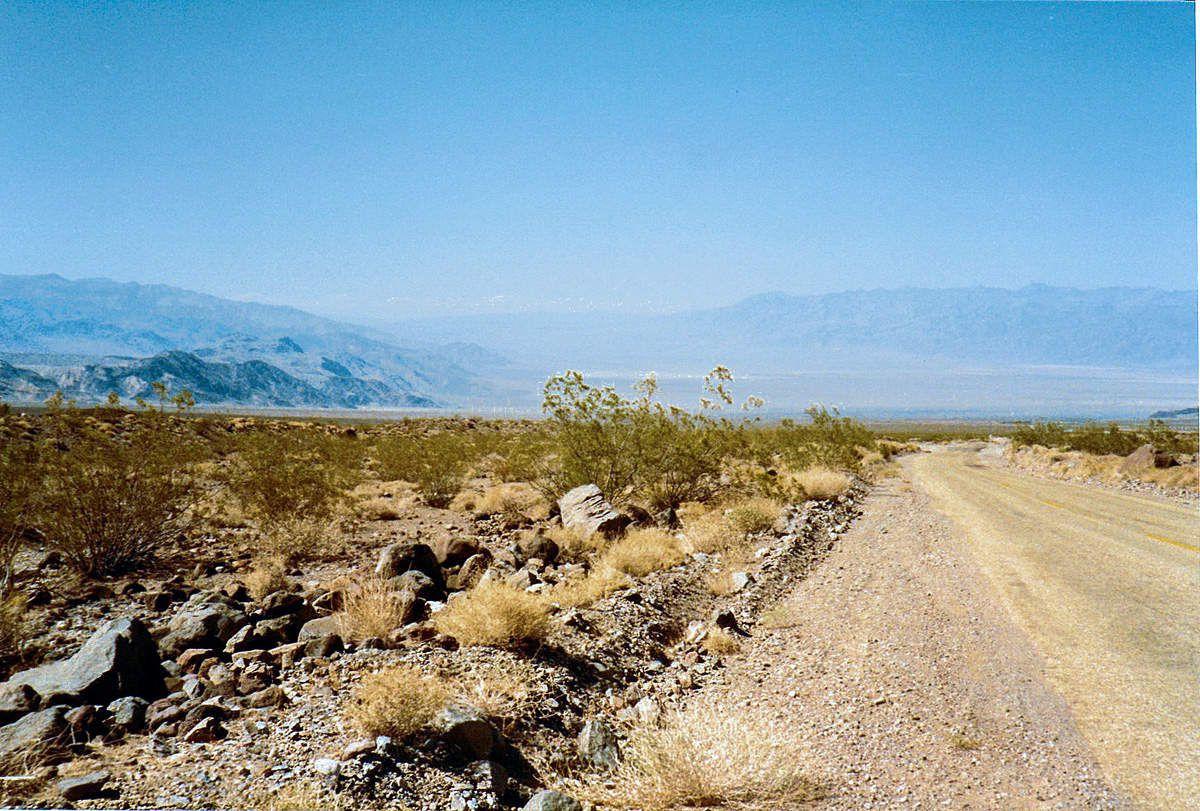 Si ma mémoire est bonne : Désert autour de Death Valley