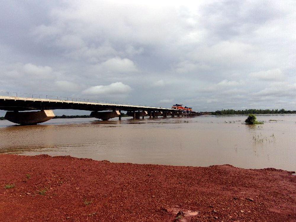 Quatrième pont en construction (2018)